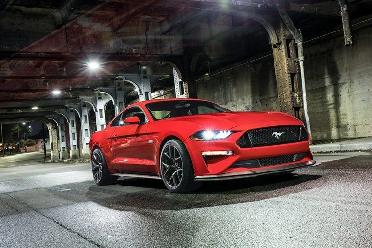 2019 Mustang Gt In Race Red New Ford Mustang Mustang Gt Ford