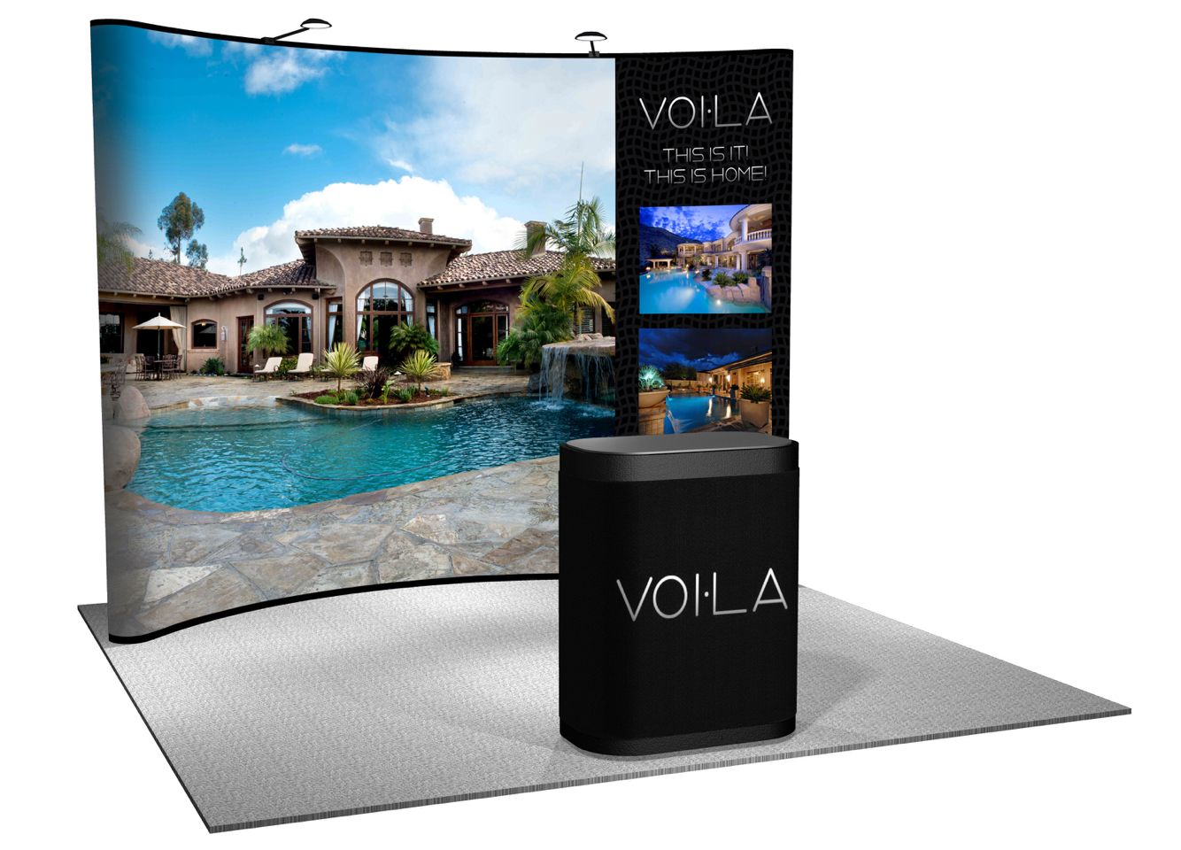Getting VOI•LA booths ready for expo's around the country is exhilarating www.TheVoila.com