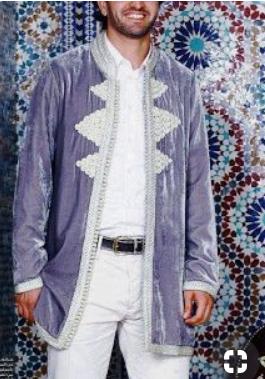 نماذج قفطان مغربي ستايل رجالي قمة في الروعة Mens Attire Moroccan Clothing Hebrew Clothing