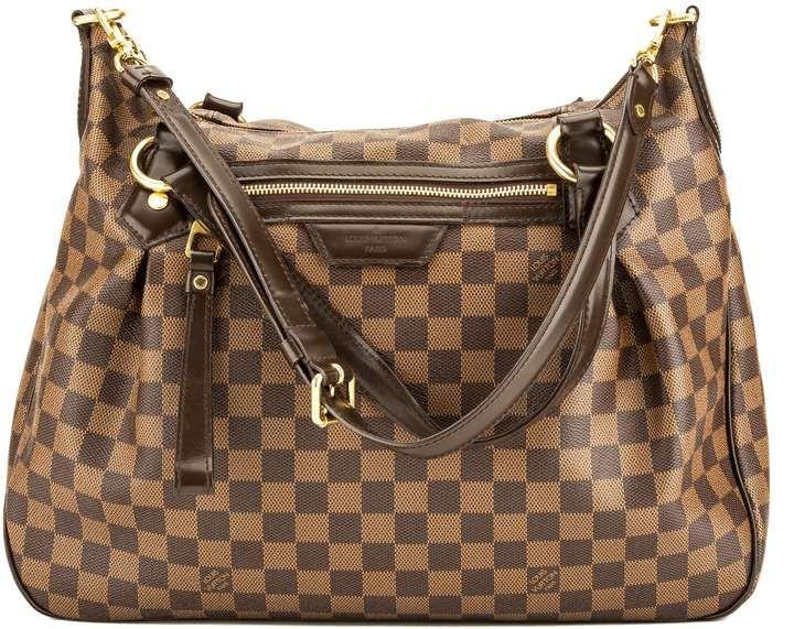 a07c698ad869 Louis Vuitton Damier Ebene Canvas Evora MM Bag (Pre Owned)