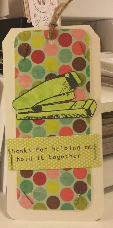 Keeping it Together CAS Tag card