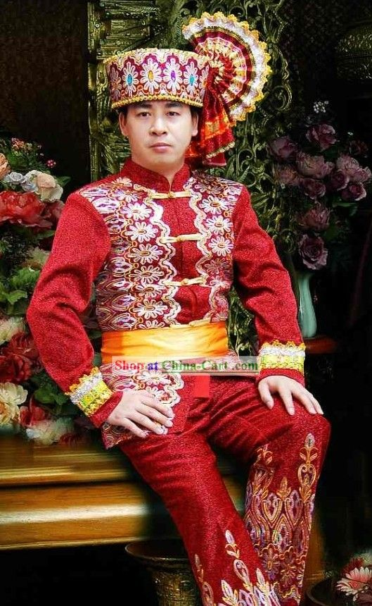 Traditional Thailand Dress Set for Men | Asia | Pinterest ...