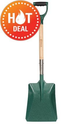 Yeoman Fsc Carbon Steel Shovel For 6 99 Garden Tools Mirror