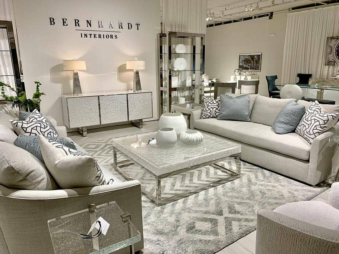 This Bernhardt Furniture Company Display At High Point Market The World S Home For Home Furnishings Is Incredi