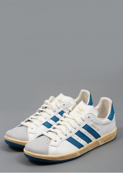 new product f115e 03d59 Adidas Grand Prix Trainers White