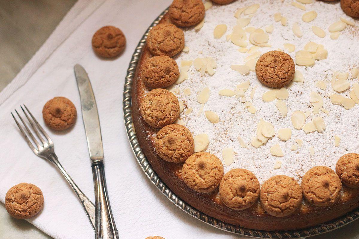 Dolci Da Credenza Biscotti Alle Nocciole : Torta agli amaretti: la ricetta della da credenza
