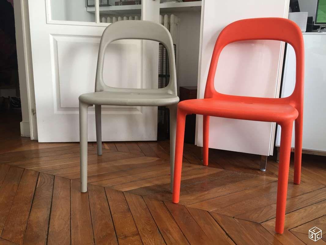 2 Chaises Urban Ikea Ameublement Paris Leboncoin Fr Ameublement Ikea Chaise