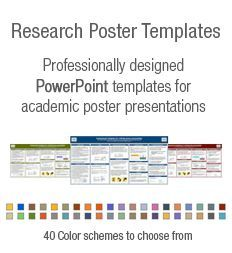 This is a collection of free powerpoint ppt and pptx native powerpoint poster templates for research poster presentations toneelgroepblik Image collections