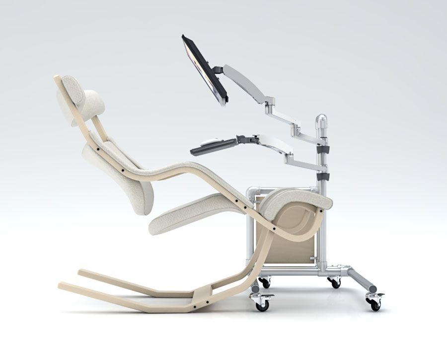 Ergonomischer bürostuhl holz  Ein ergonomischer Bürostuhl für langes und produktives Arbeiten ...