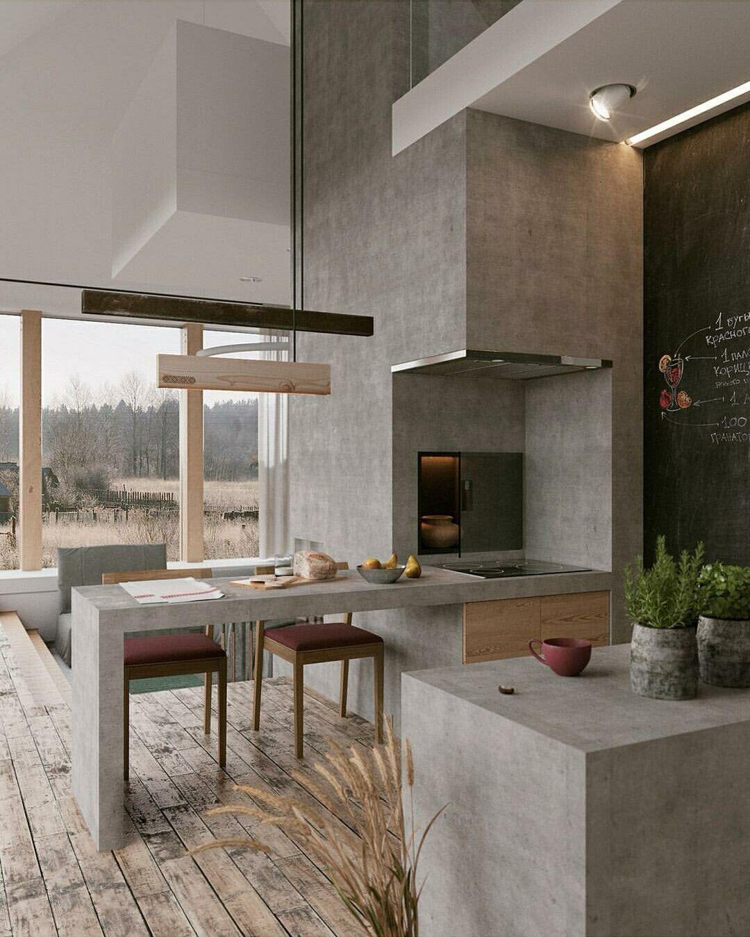 arquitetura_urbanismo | rustic taupe | Pinterest | Küche ...