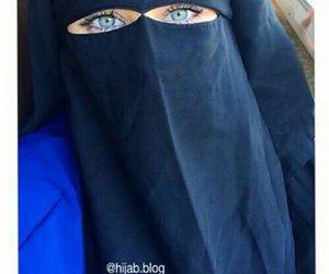 Blue Eyed Niqabi Niqab Muslim Women Cute Eyes