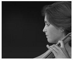 Idea of K's shoot using the cello. Photo by Martin Horton.