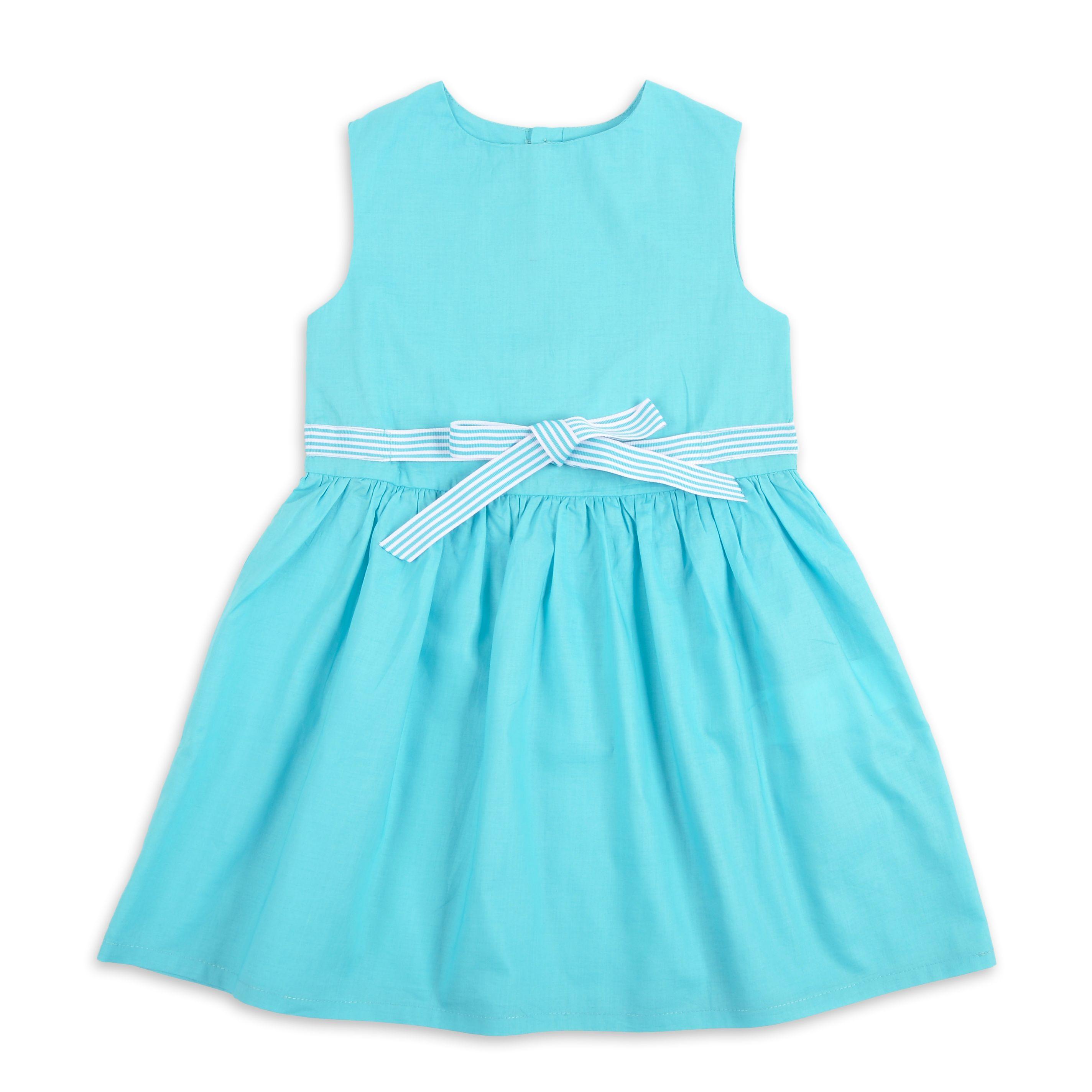 Vestidos casuales color azul turquesa