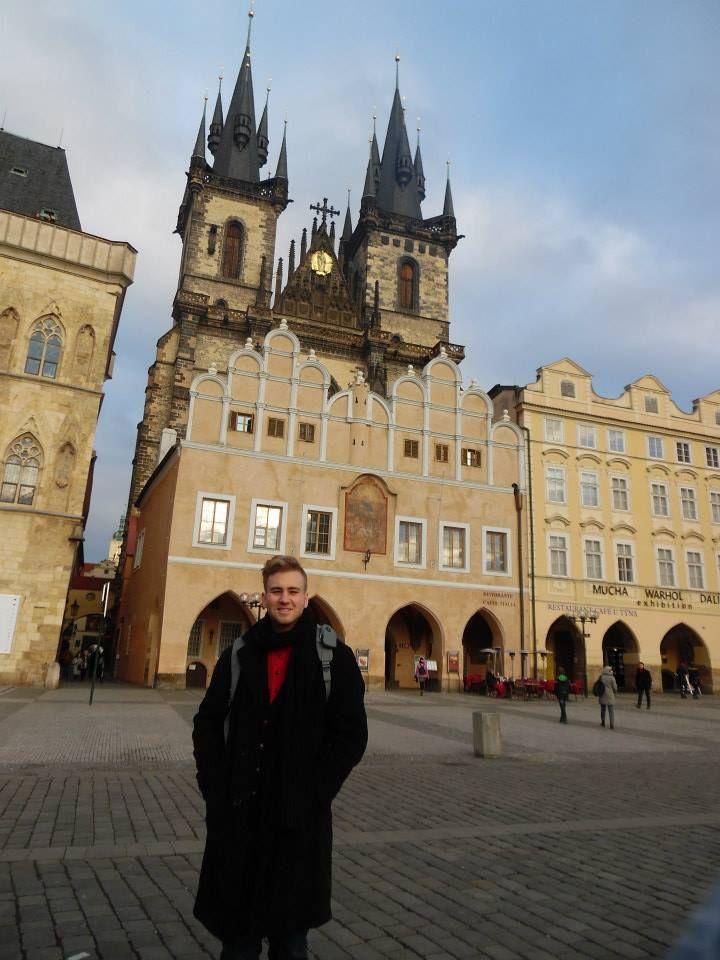 Aaron in Prague