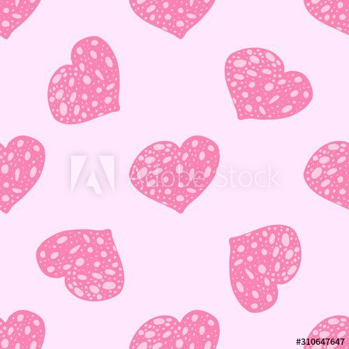 A variety of beautiful hearts for Valentine's Day. Hand-drawn vector illustration. Seamless pattern. - Buy this stock vector and explore similar vectors at Adobe Stock  A variety of beautiful hearts for Valentine's Day. Hand-drawn vector illustration. Seamless patte #Adobe #Beautiful #buy #Day #explore #HandDrawn #Hearts #illustration #Pattern #seamless #similar #Stock #Valentines #Variety #Vector #Vectors