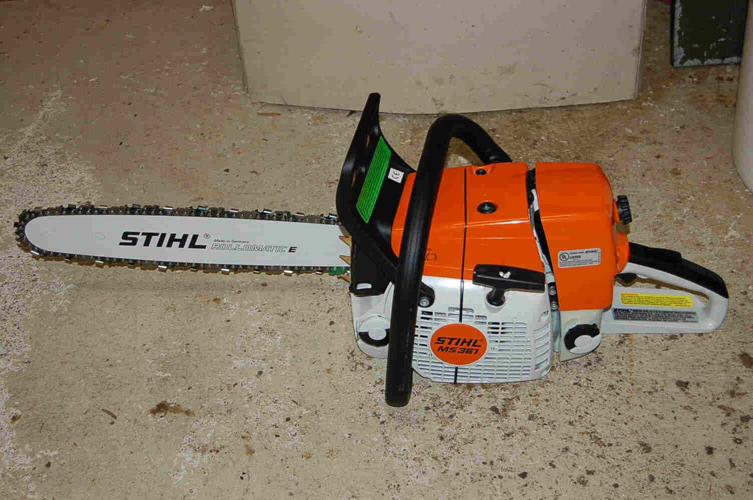 Firewood With A Stihl 361 Chainsaw I Own Several