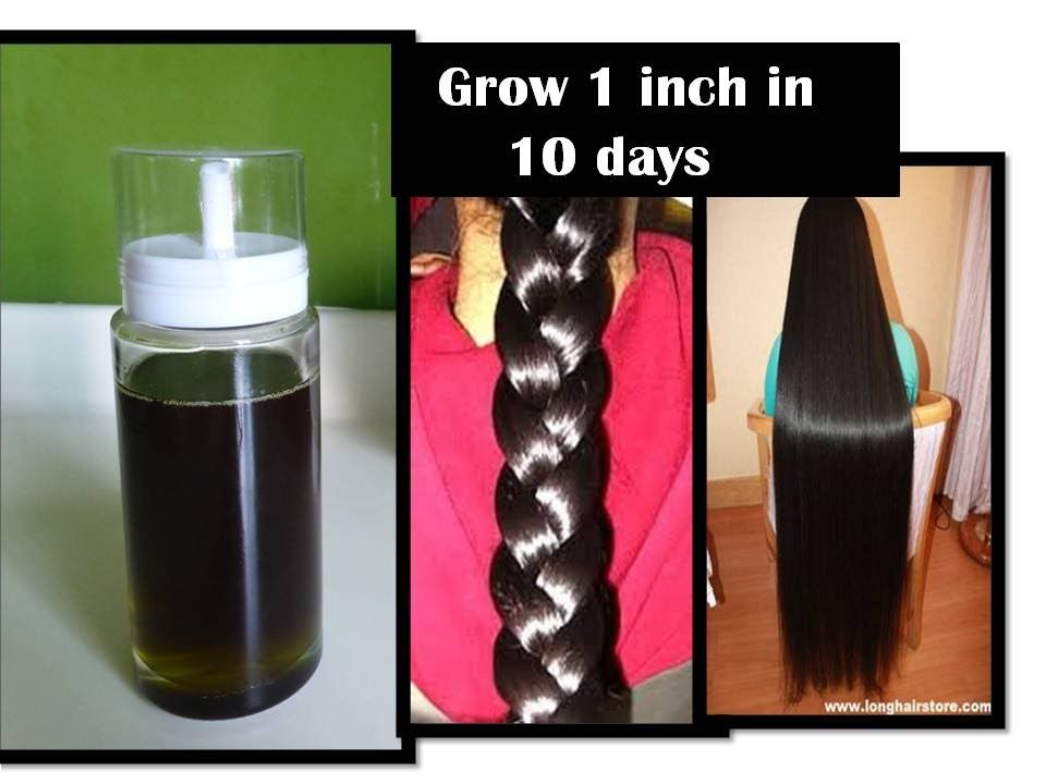 grow hair 1 inch in 10 days Curry leaf herbal oil