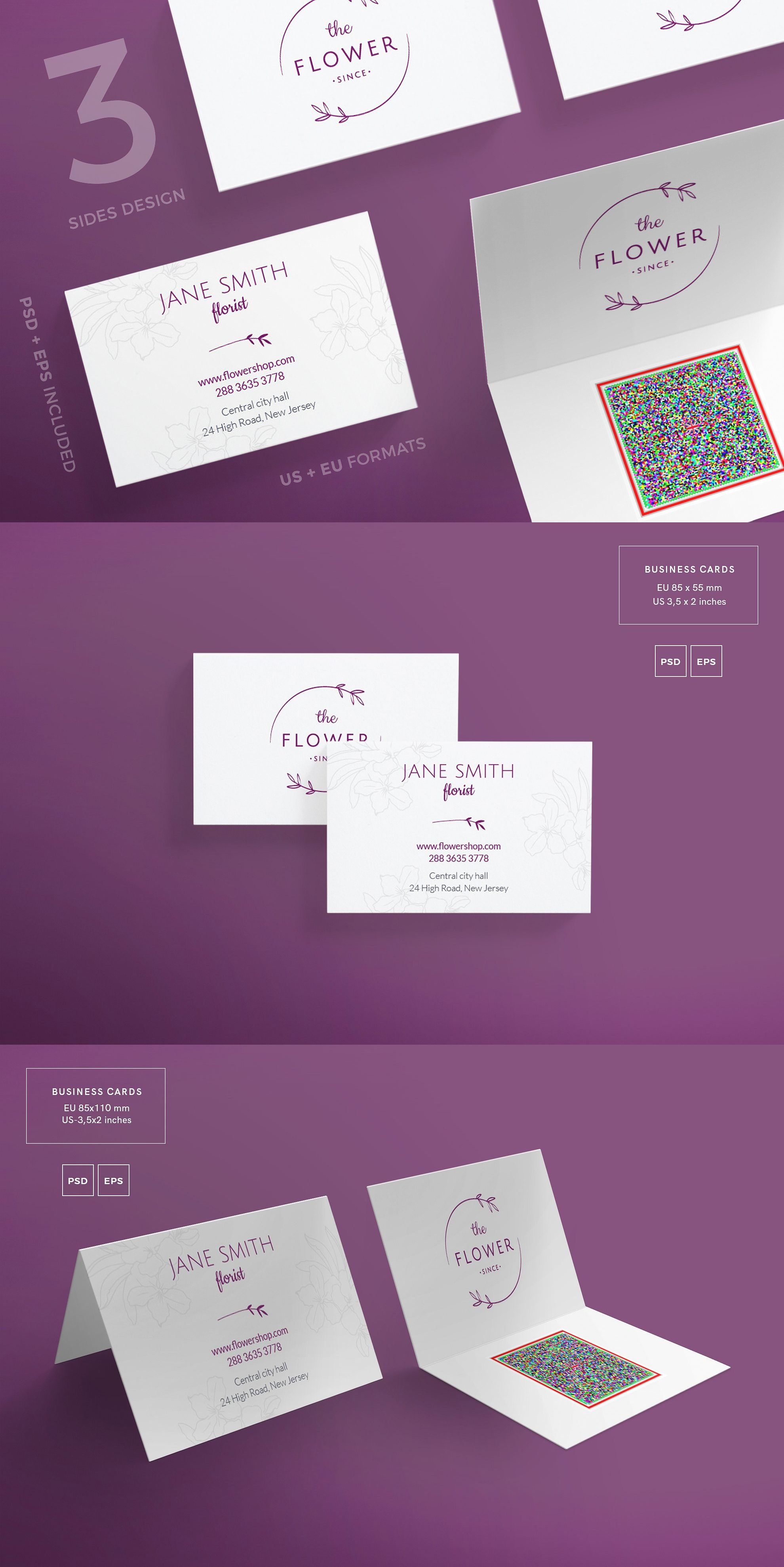 Business cards template flower shop pdf business card template business cards template flower shop pdf alramifo Gallery