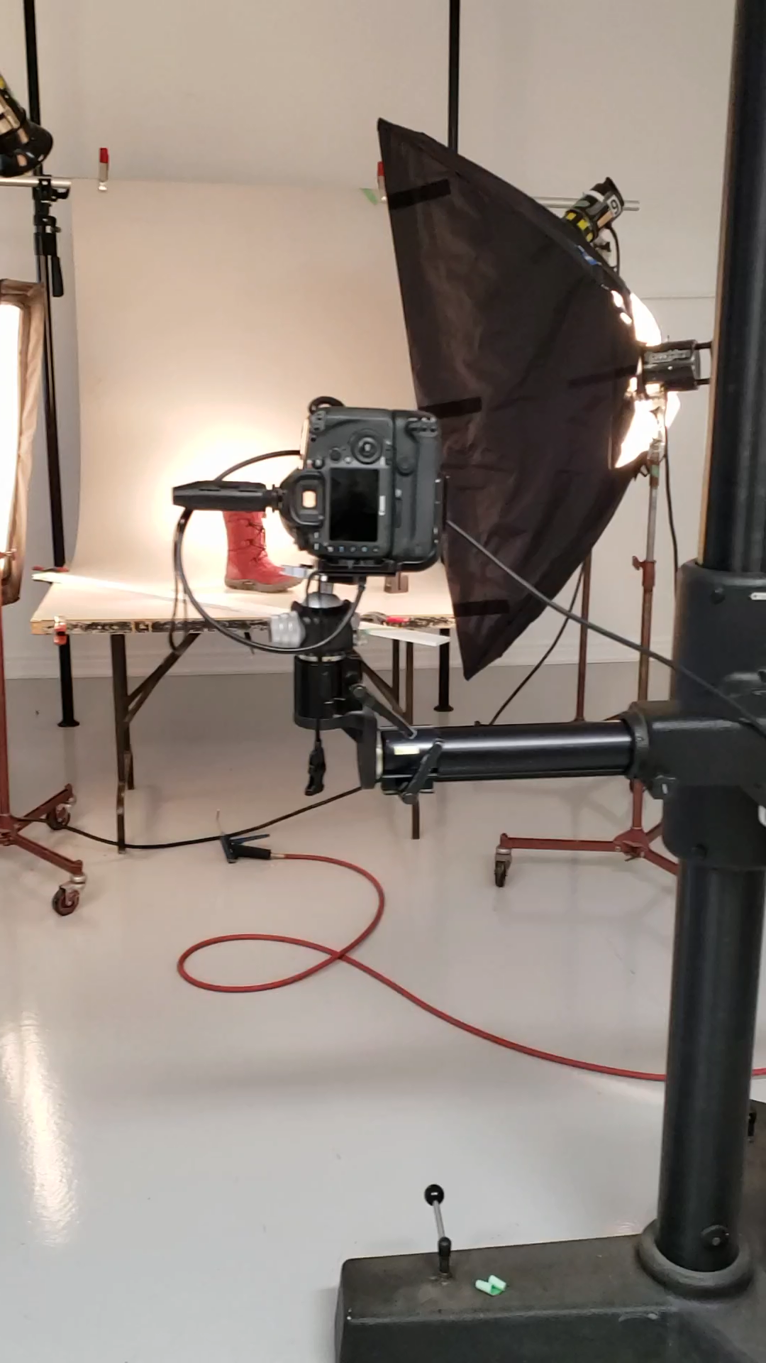 A quick behind the scenes shot of some product photography going on in the studio.   #photography #behindthescenes #productphotography #camera #setup