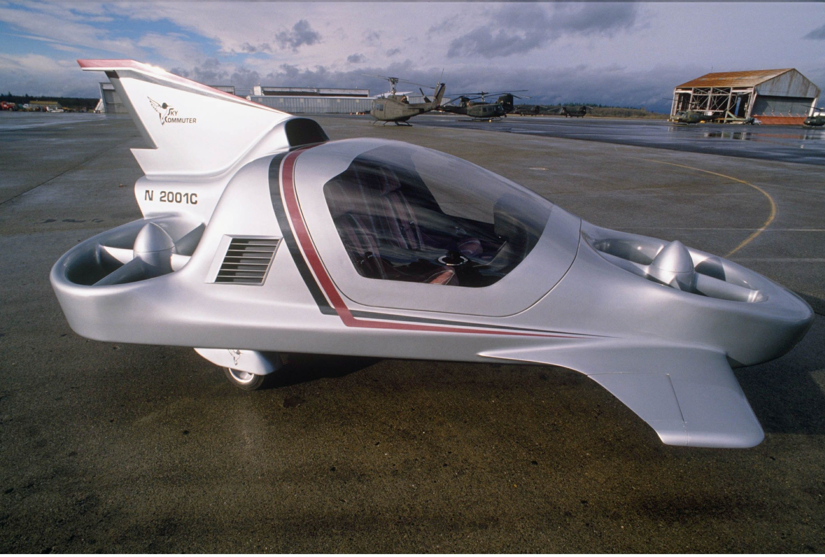 Boeing Sky Commuter (With images) Flying car, Real