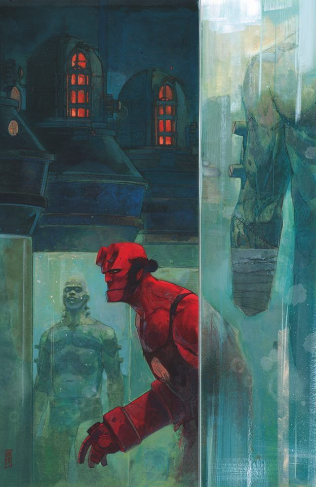 Hellboy - Alex Maleev