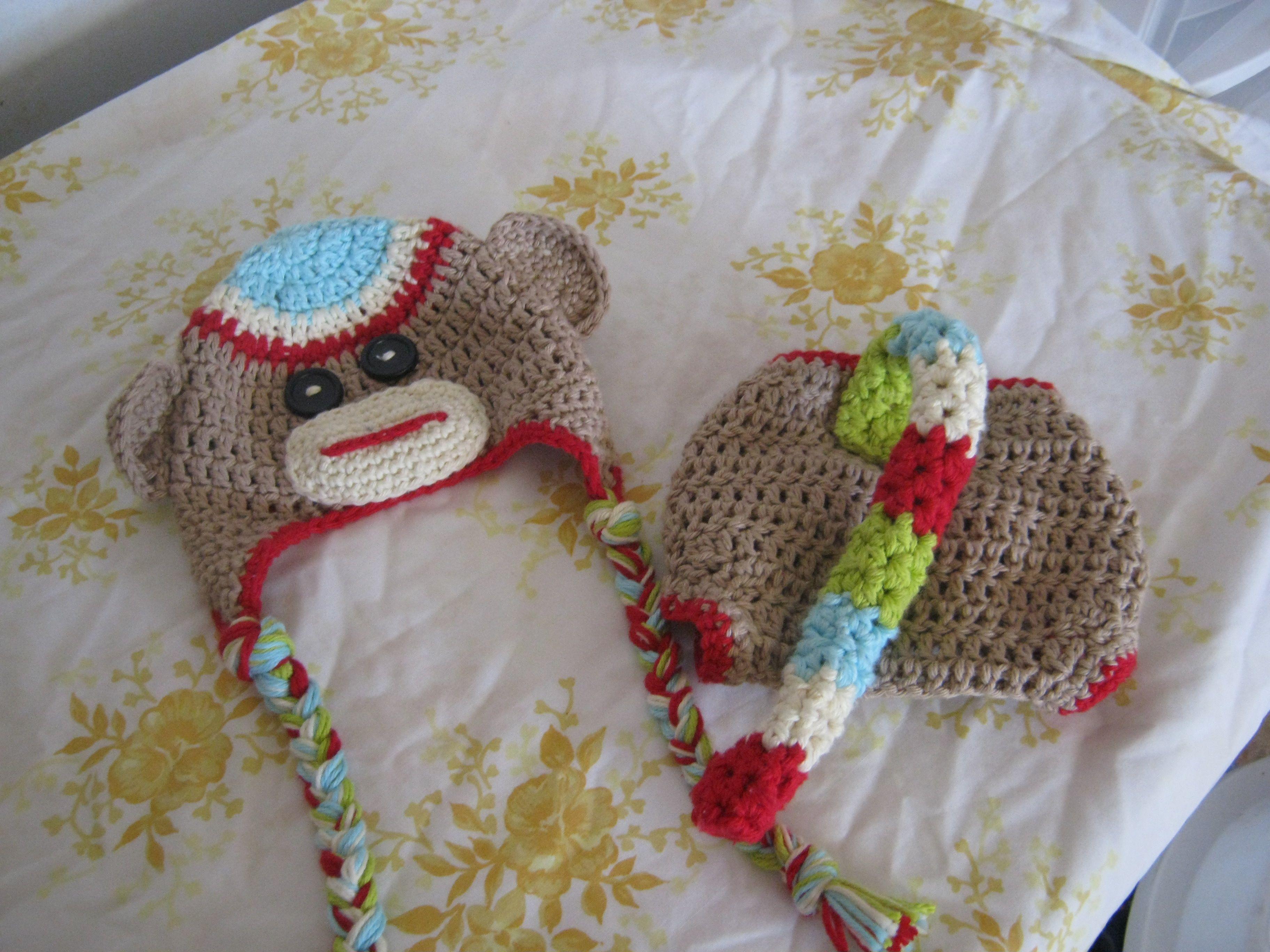 Free Crochet Sock Monkey Face Pattern