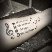 Photo of #Music tattoo – #