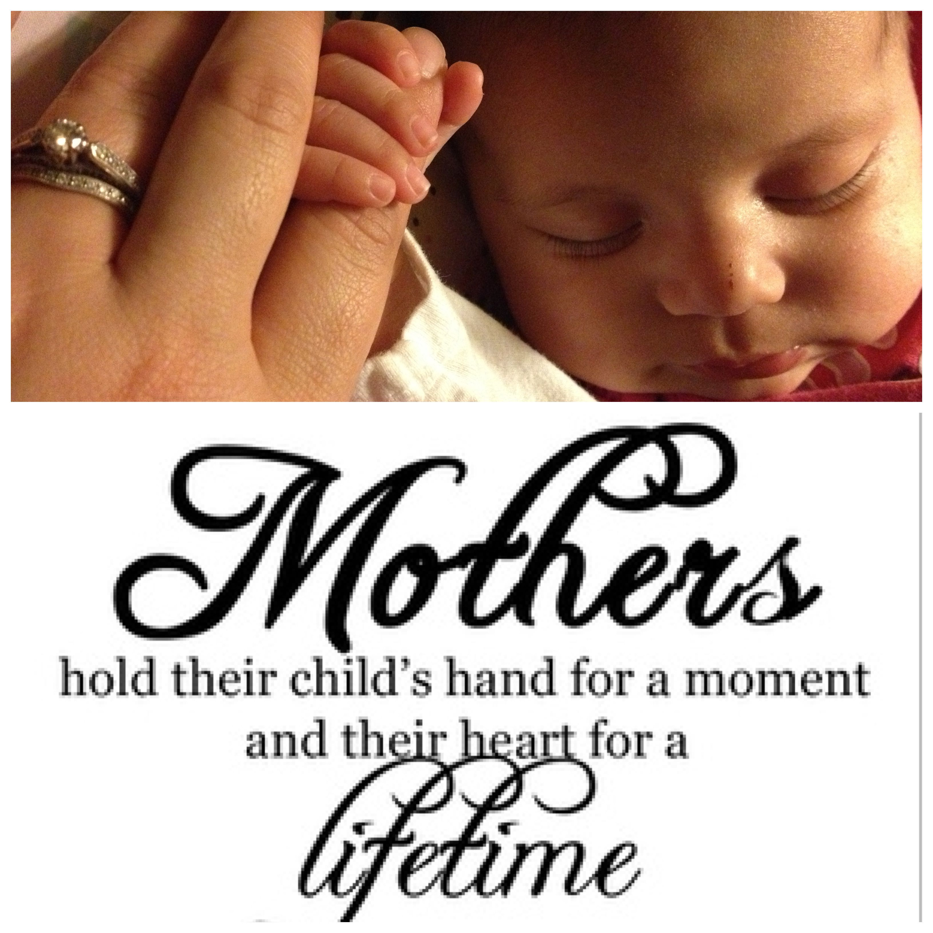 Holding hands quotes  A mothers love  Babies | Words to live
