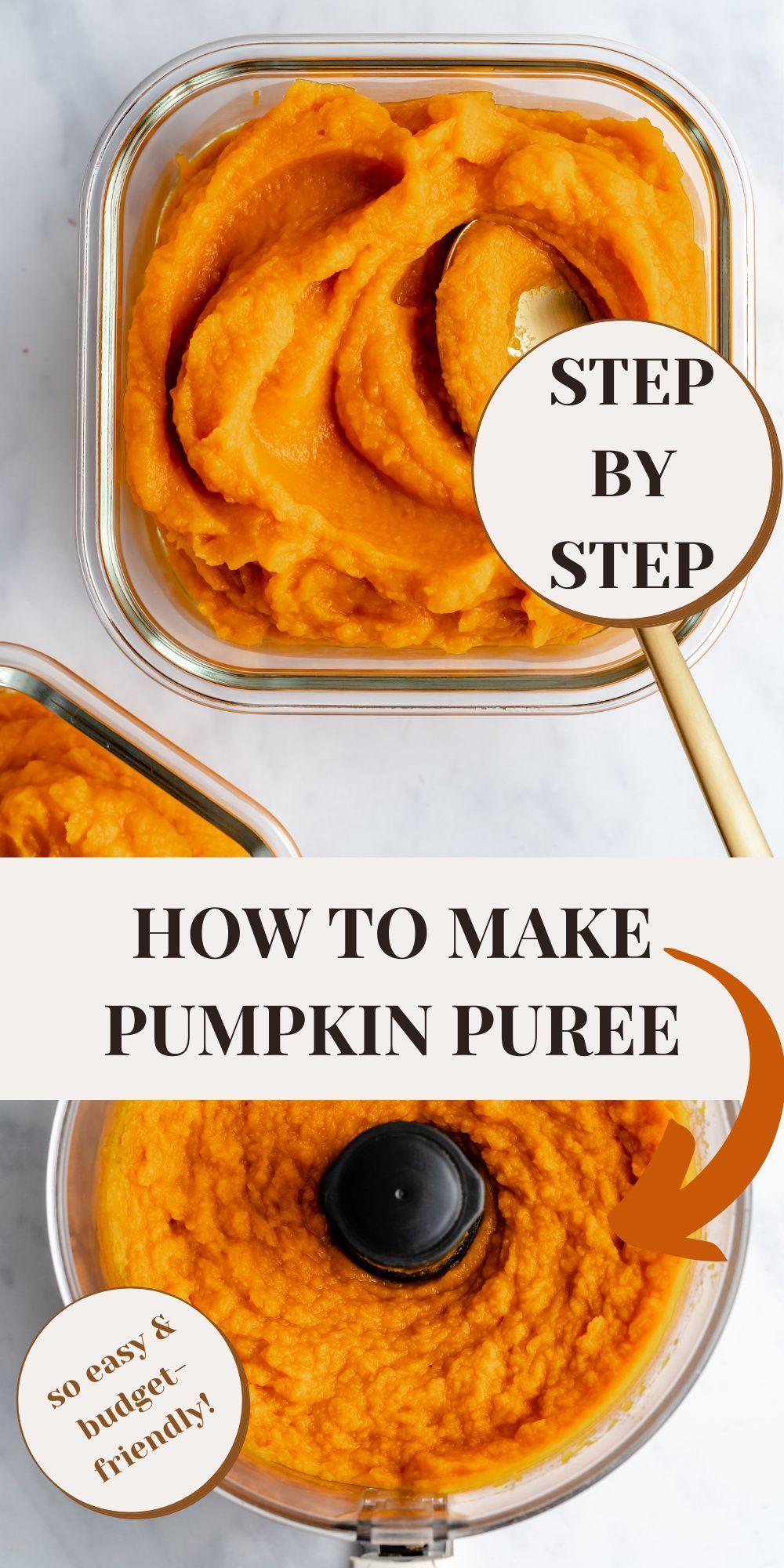 How To Make Pumpkin Puree In 2020 Vegan Thanksgiving Recipes Pumpkin Puree Vegan Christmas Recipes
