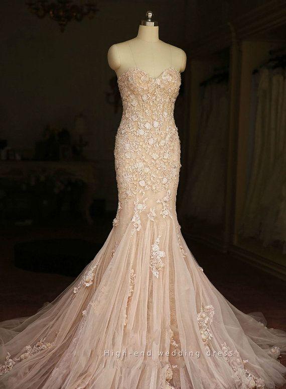 Mermaid Wedding Dress 412c4b46141