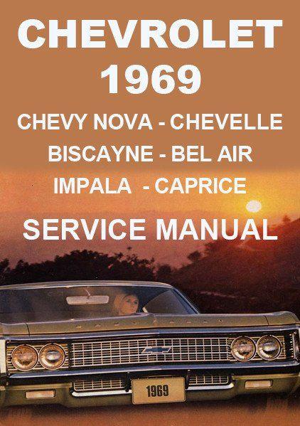chevrolet impala bel air biscayne caprice chevelle chevy nova rh pinterest com 1972 Chevelle 1968 chevelle service manual
