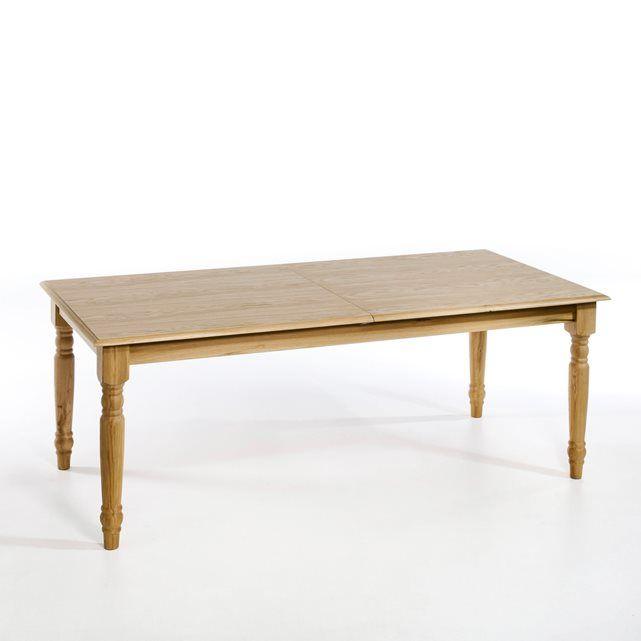 Table Germaine, avec allonge Description détaillée