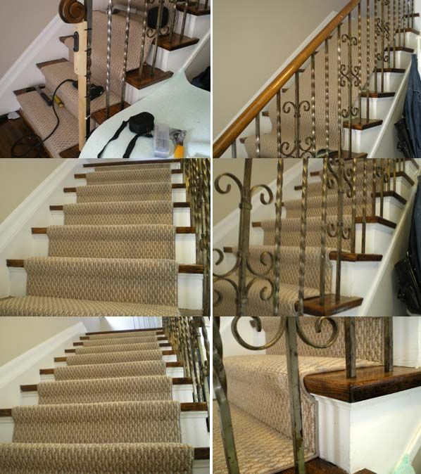 Replacing Carpet With A Stair Runner: Carpet Stairs, Carpet Flooring, Hallway Carpet Runners