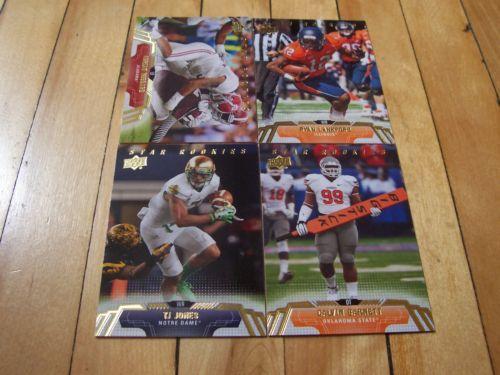 Ryan Lankford Adrian Hubbard TJ Jones Calvin Barnett 2014 Upper Deck 4 Card Lot | eBay