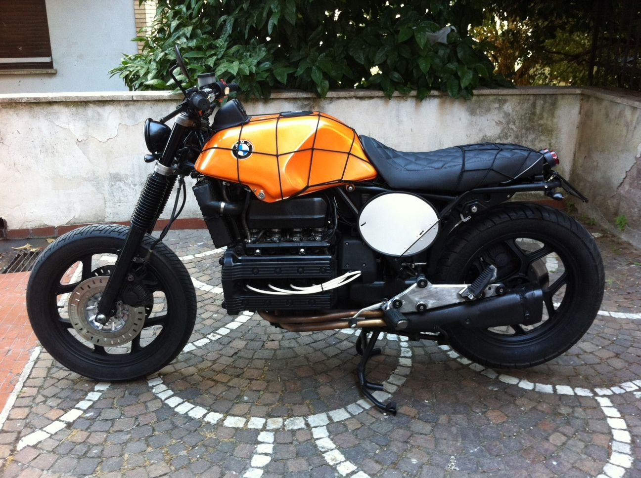 bmw k100 cafe racer k 100 rs cr bmw pinterest bmw. Black Bedroom Furniture Sets. Home Design Ideas