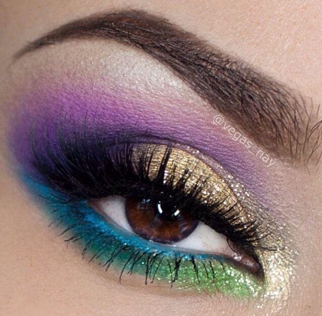 Mardi Gras Makeup Google Search Make Up Pinterest Makeup