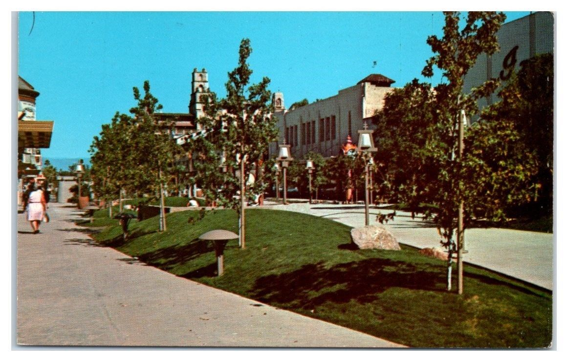 1950s 60s Greetings From Riverside Ca Downtown Mall Postcard Ebay Riverside California Riverside University Of California Riverside