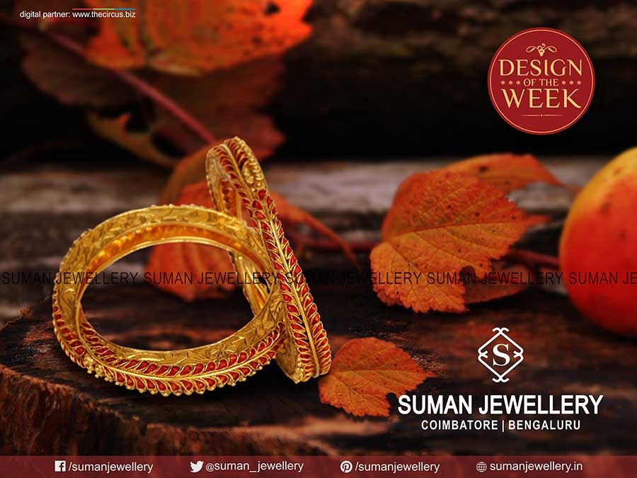 The result of #meticulous & delicate craftsmanship to #adorn the necklace with utter #sophistication. #suman_jewellery #designoftheweek #fashion #beauty #bangle