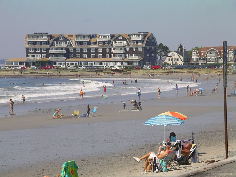 We Think Kennebunk Beach Might Look This Crowded Today With Such Beautiful Weather As Seen On Visitmaine