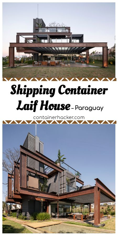 Container Laif House by BAUEN – Paraguay