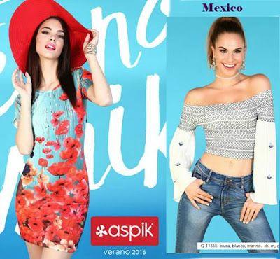 catalogo aspik verano 2016. Descubre una gran variedad de ropa de moda para  mujer. Aspik Collection Mexico 9dc1fbb14b0