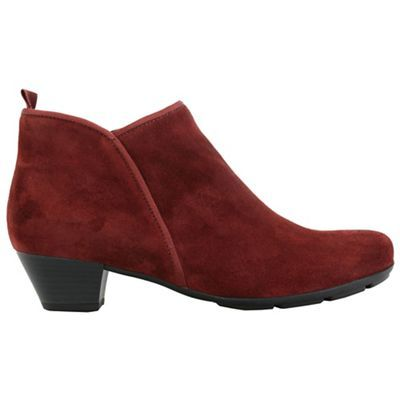 Gabor Wine 'Trudy' Ankle Boots | Boots
