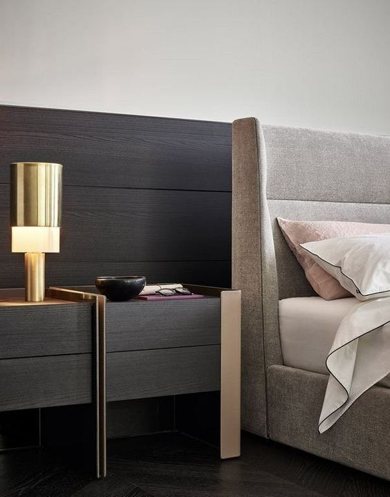 Modern Nightstand Ideas From The Master Bedroom Collection