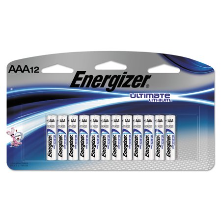Energizer Ultimate Lithium Aaa Batteries 12 Pack Walmart Com Energizer Lithium Battery Aaa