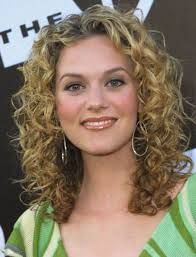Image Result For Natural Curly Hairstyles For White Women