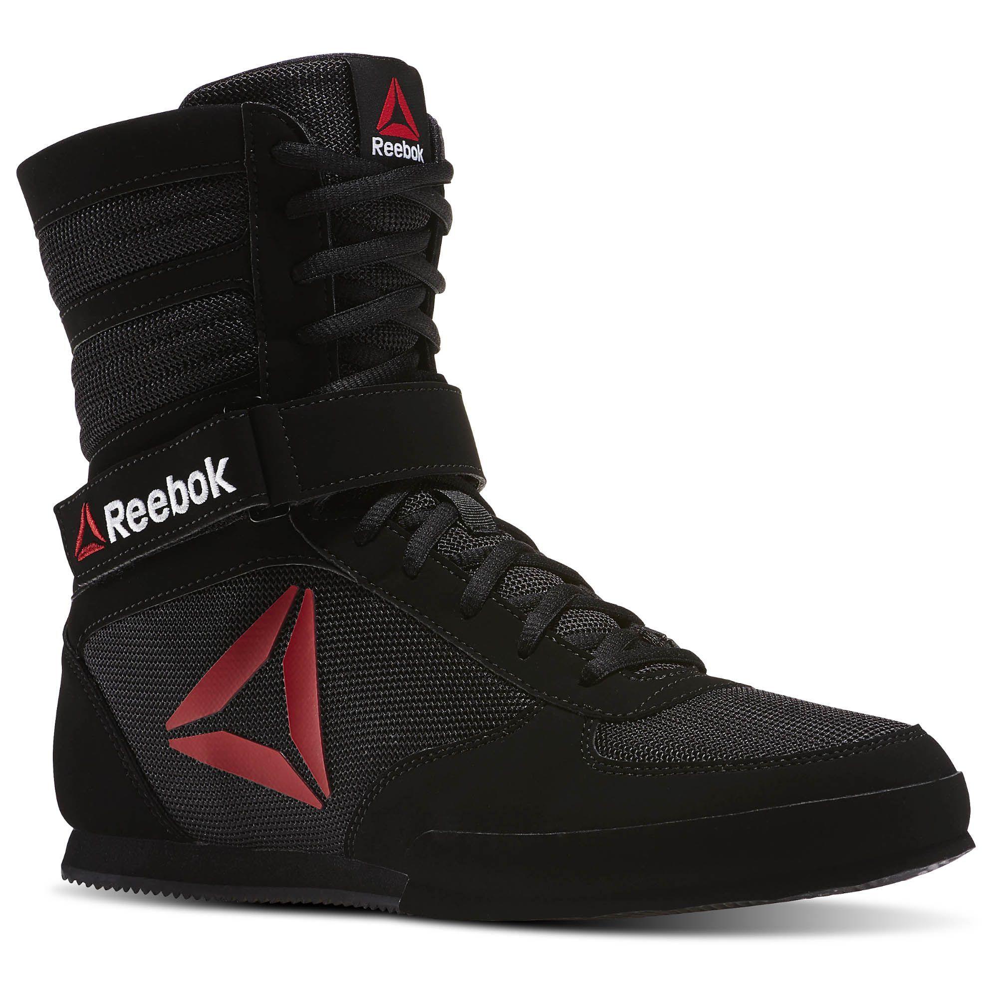 Reebok Reebok Boxing Boot Buck   Boxing boots, Red