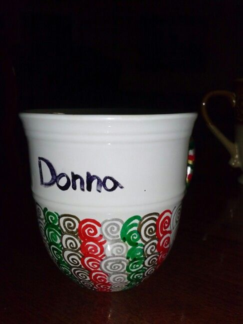 I tried out the sharpie mug thing and it wasn't half bad. My mom loved it!