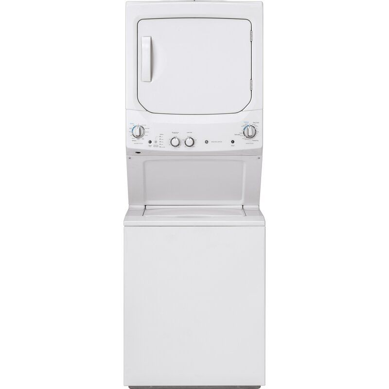 3 8 Cu Ft Washer And 5 9 Cu Ft Electric Dryer Laundry Center