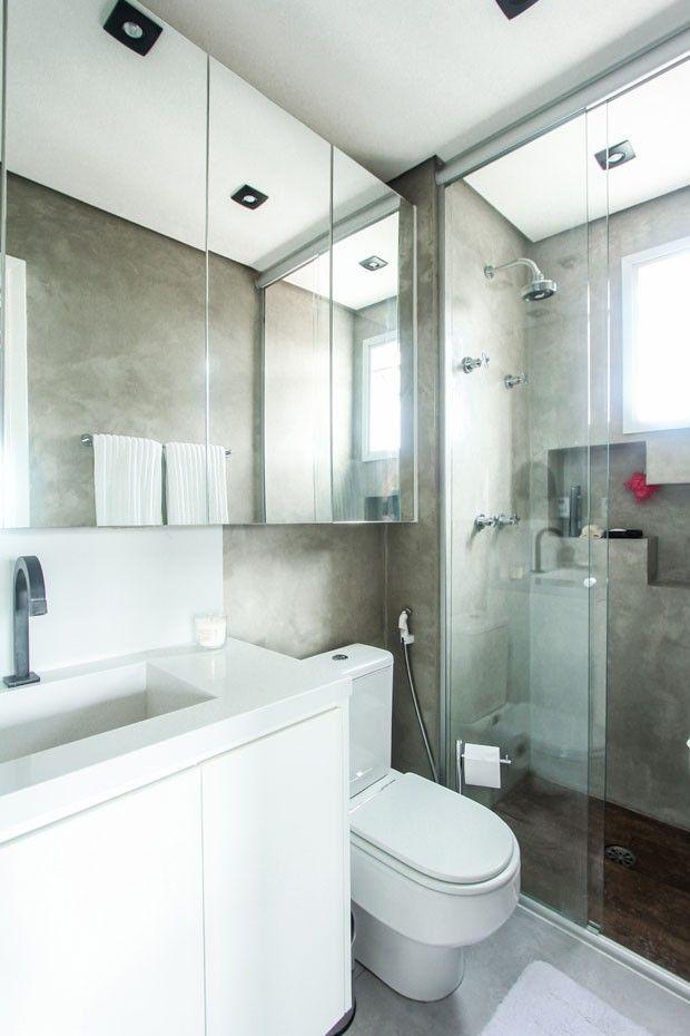 Loft de 44 m² tem ideias práticas para espaços pequenos