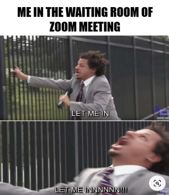 Waiting Room Of Zoom Meeting Be Like Really Funny Memes Best Funny Photos Funny Relatable Memes